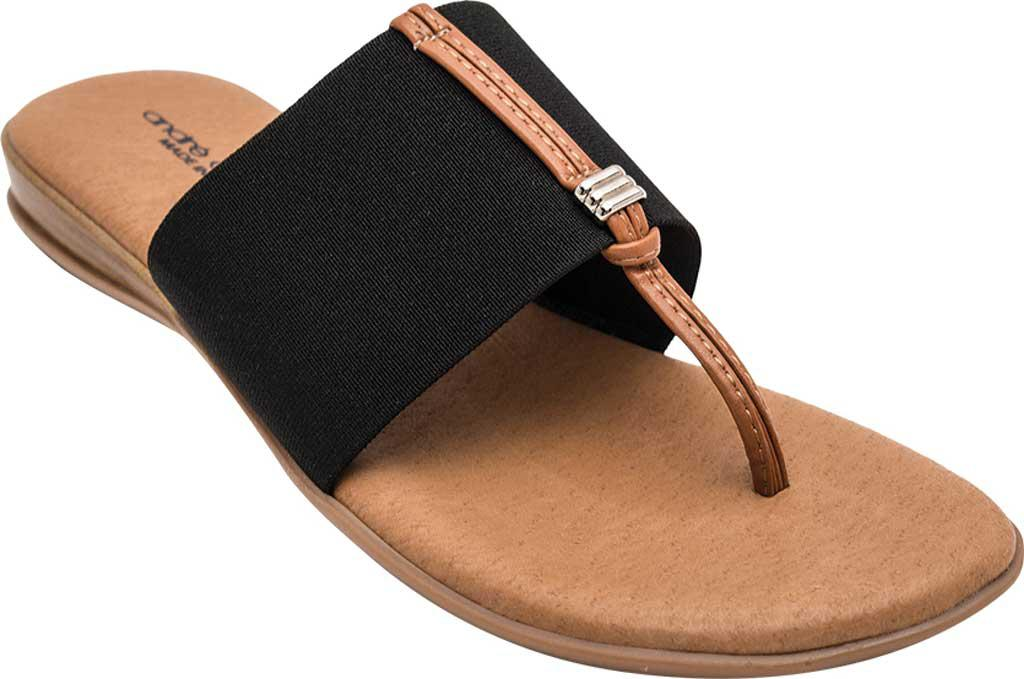 ce72b439c4d6 Lyst - Andre Assous Nice-2 Thong Sandal in Black