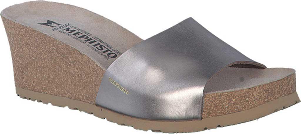 2ddcb6ecc4a Lyst - Mephisto Lise Wedge Slide Sandal in Gray
