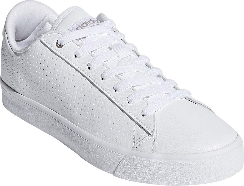 lyst adidas cloudfoam täglich qt - saubere hof schuh in weiß