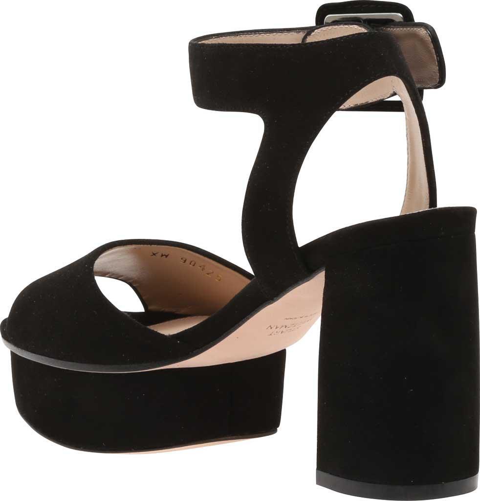 f8a68101933 Stuart Weitzman - Black Newdeal Ankle Strap Platform Sandal - Lyst. View  fullscreen