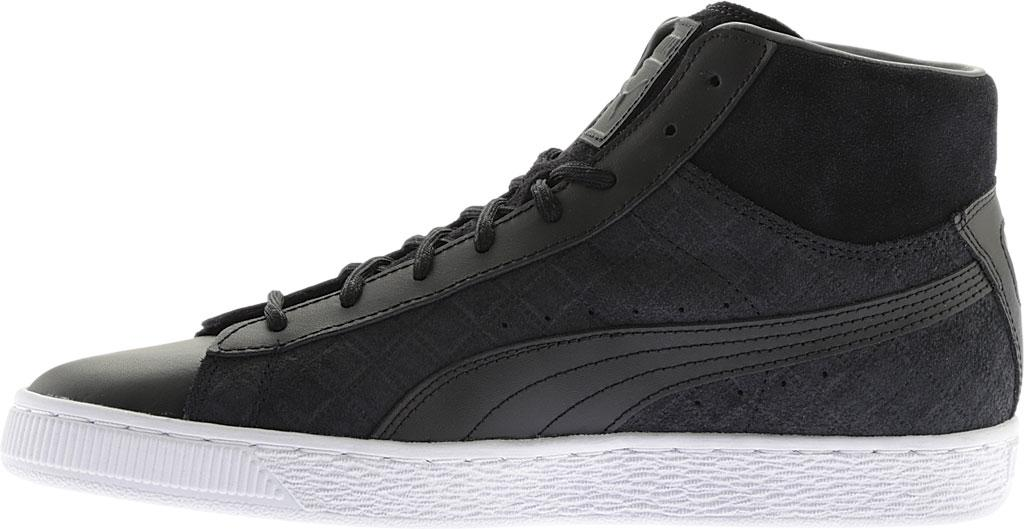 Lyst - PUMA Suede Classic Mid Quilt High Top in Black for Men 5fbb9fd9a