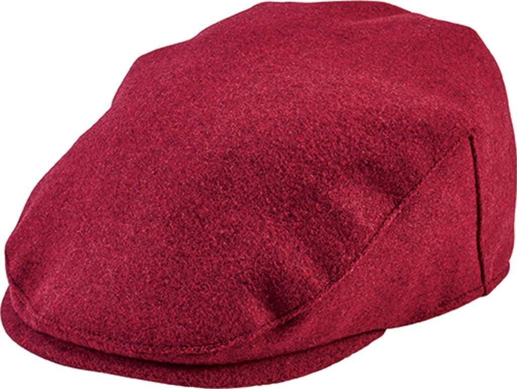 7ec02199 Lyst - San Diego Hat Company Flat Cap Cth8066 in Red