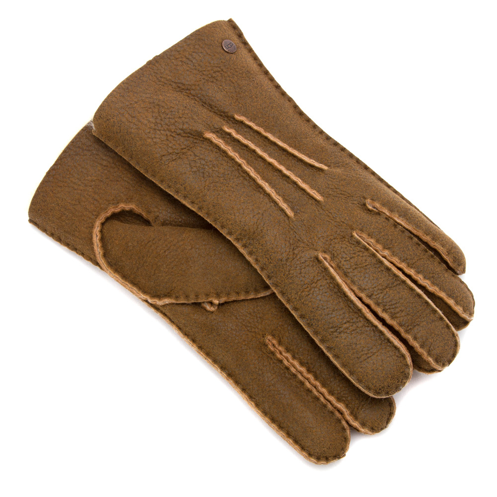 ugg mens glove with gauge points