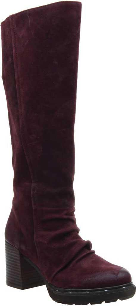 6f67a43ad72b Lyst - Otbt Gambol Suede Knee-high Boots in Purple