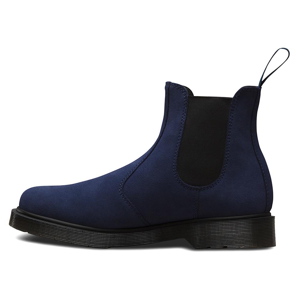 lyst dr martens 2976 chelsea boot in blue. Black Bedroom Furniture Sets. Home Design Ideas