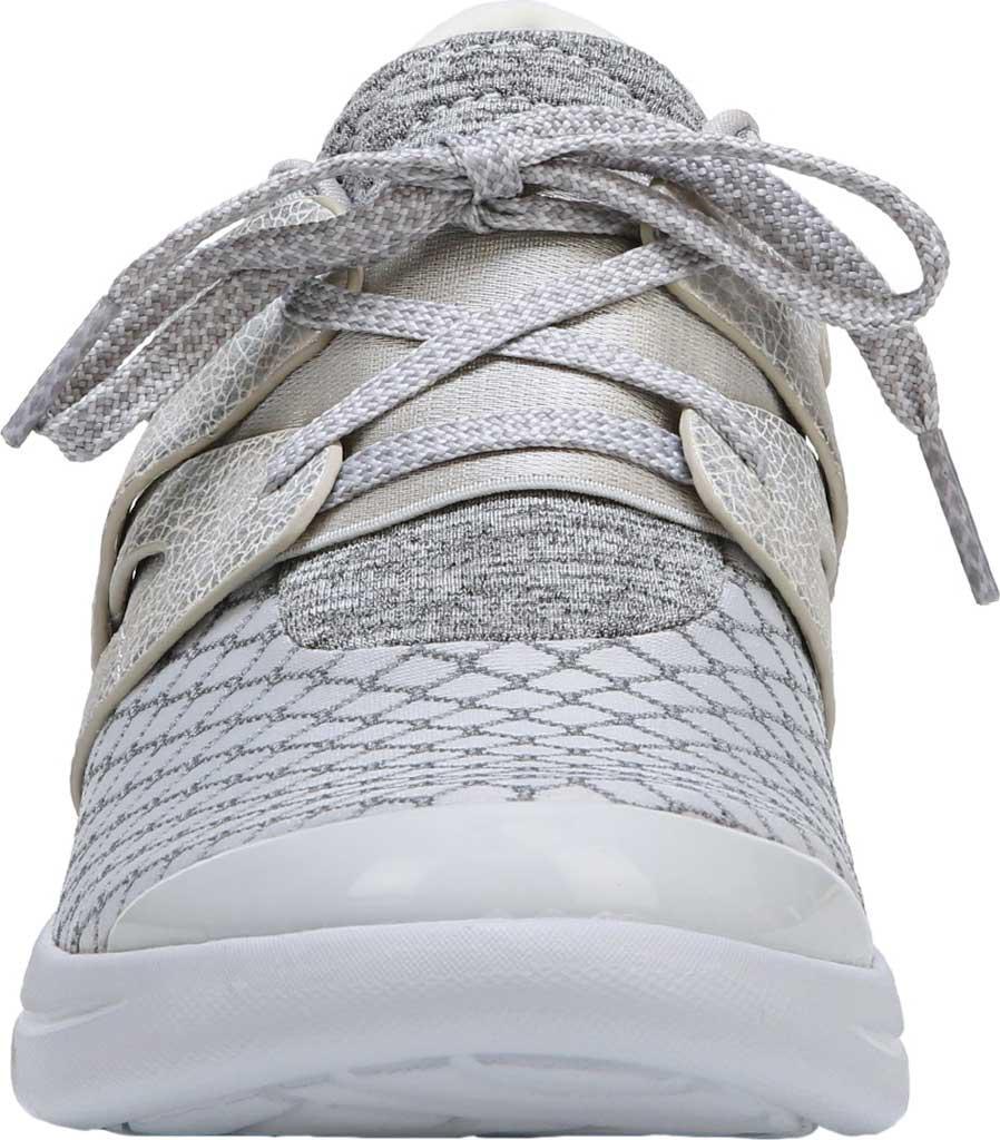 Bzees Synthetic Flicker Sneaker in Gray