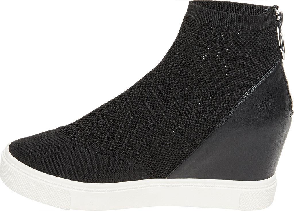 23869210e6a Lyst - Steve Madden Lizzy Wedge Sneaker in Black