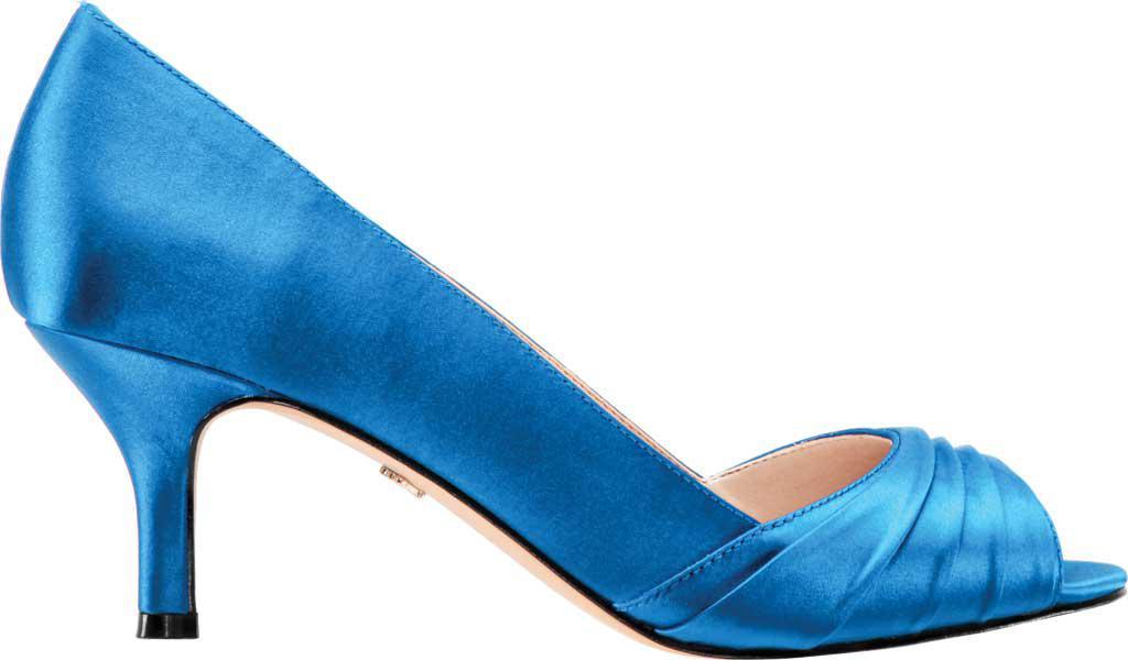 9ec3ae9a4bf0 Nina - Blue Chezare Open-toe Pump - Lyst. View fullscreen