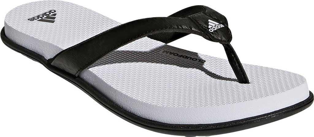 24cde08b7a7f0f Lyst - adidas Cloudfoam One Y Thong Sandal in Black