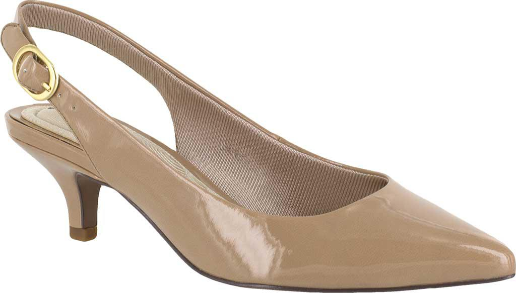 92d77bc3402 Lyst - Easy Street Faye Slingback in Natural