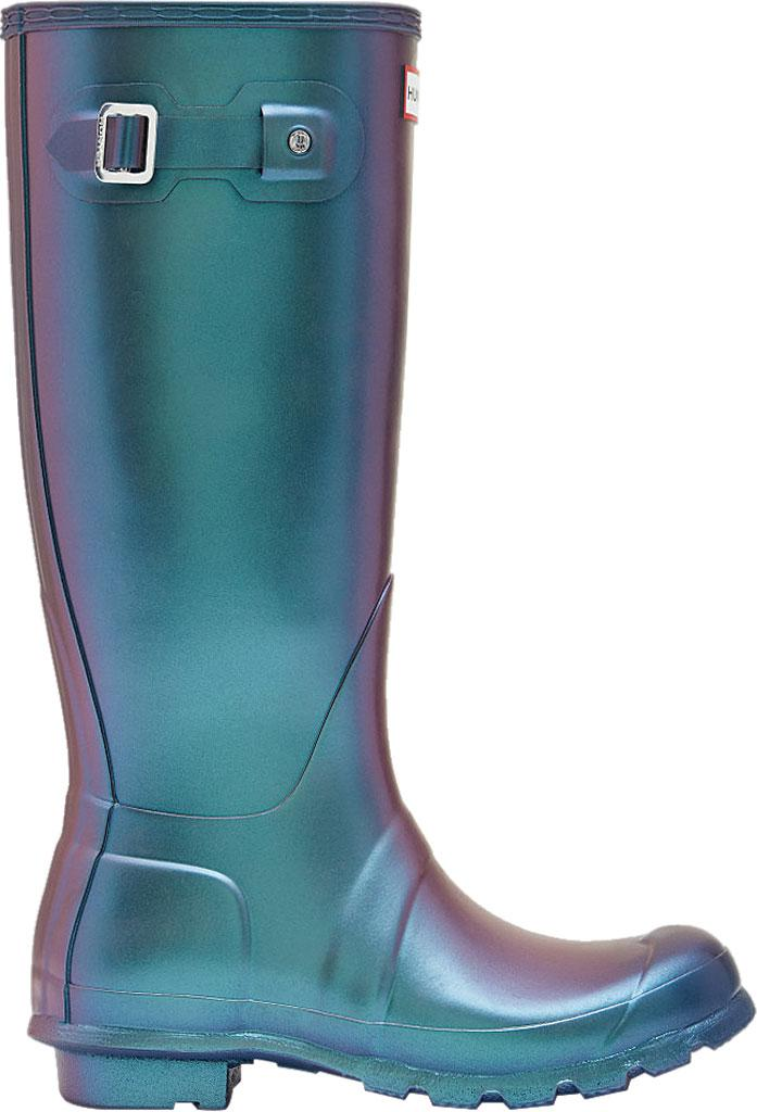 578b8073773 Hunter - Blue Original Tall Nebula Rain Boot - Lyst. View fullscreen