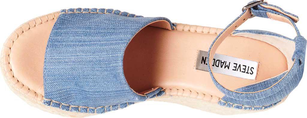 0dac48a3b10 Steve Madden Blue Sway Wedge Sandal