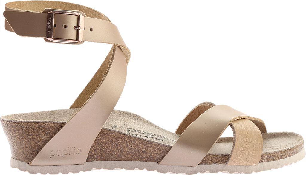 8ec6fde80b1 Birkenstock - Multicolor Papillio Lola Leather Ankle Strap Sandal - Lyst.  View fullscreen