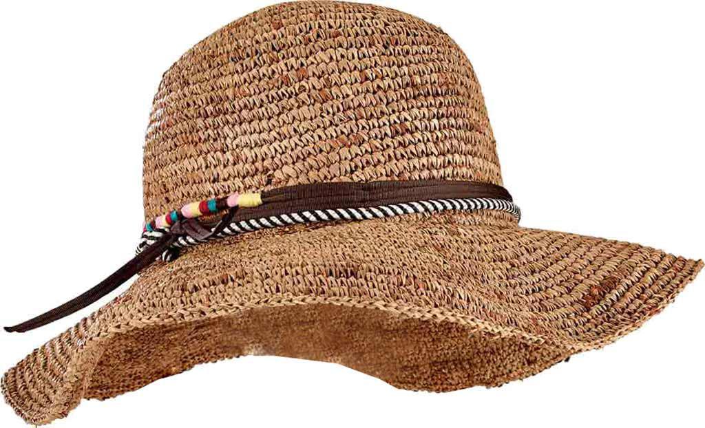 Lyst - San Diego Hat Company Crochet Raffia Round Crown Floppy Sun ... 19ff95c05884
