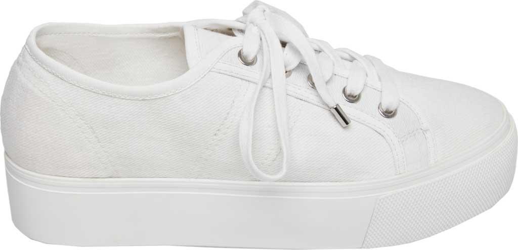 72d946ebed9b Steve Madden - White Emmi Platform Sneaker - Lyst. View fullscreen