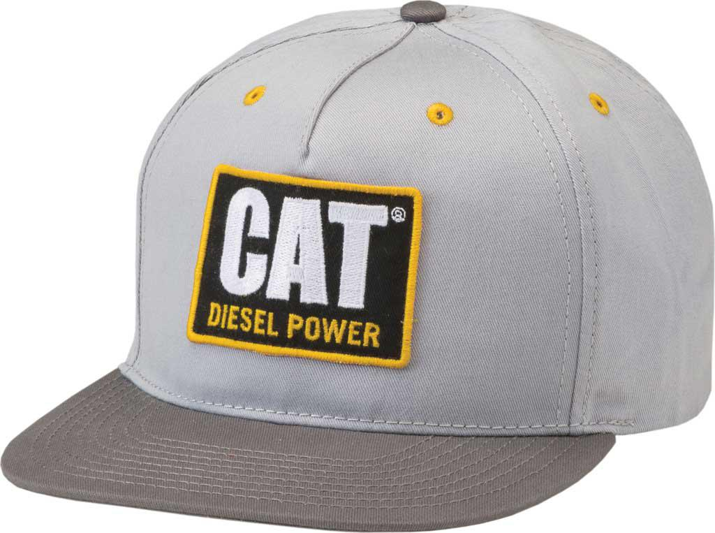 442371ade67 Lyst - Caterpillar Diesel Power Flat Bill Cap in Gray for Men