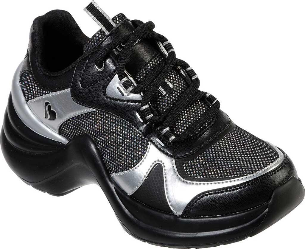 ed16ff601b2 Skechers Solei St. Groovilicious Wedge Sneaker in Black - Lyst