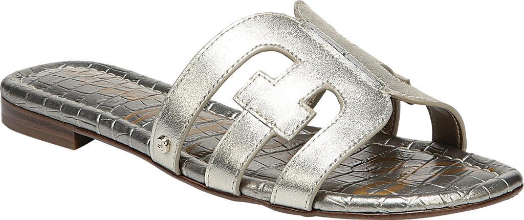 865d39e2528 Lyst - Sam Edelman Women s Bay Slide Sandals in Metallic - Save 51%