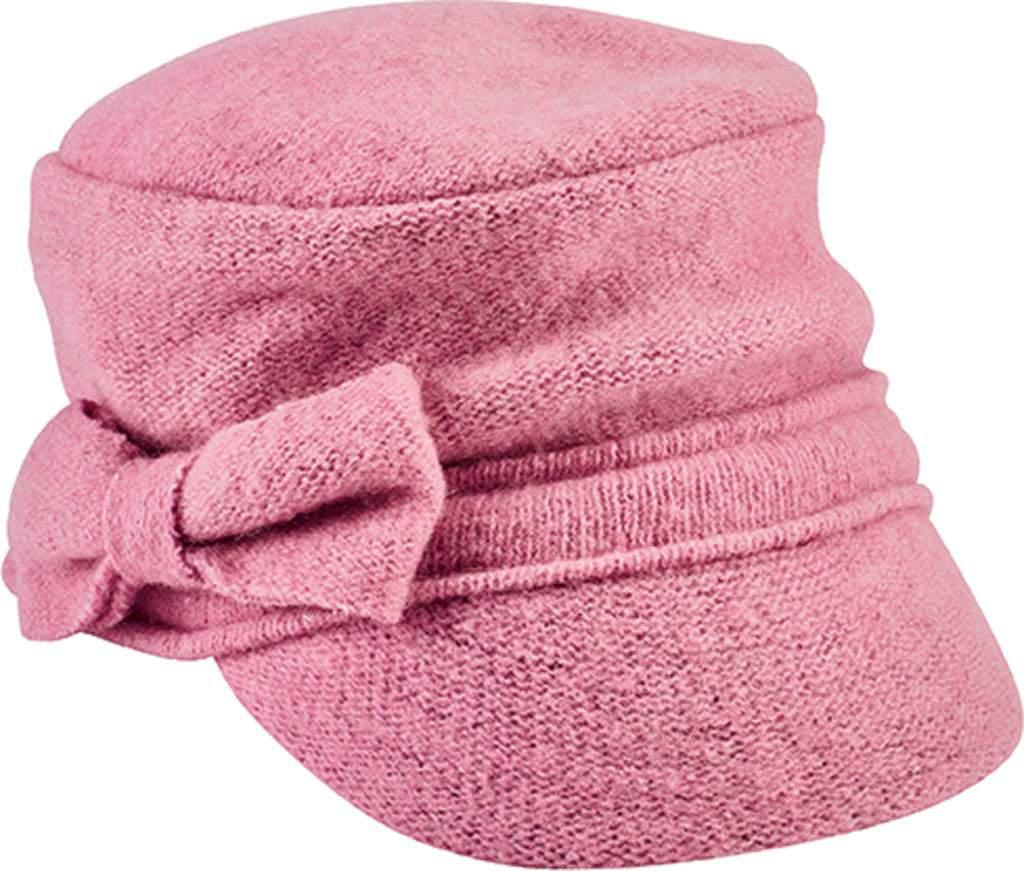 8753a25bd83 Lyst - San Diego Hat Company Soft Cadet Cap With Bow Cth8086 in Pink
