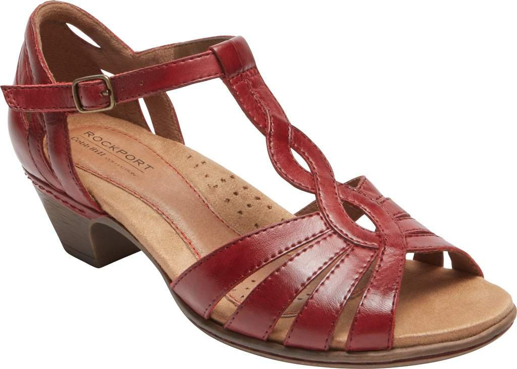 Rockport Cobb Hill Abbott Gladiator Sandal(Women's) -Black Leather Buy Cheap Outlet Store XoxNX