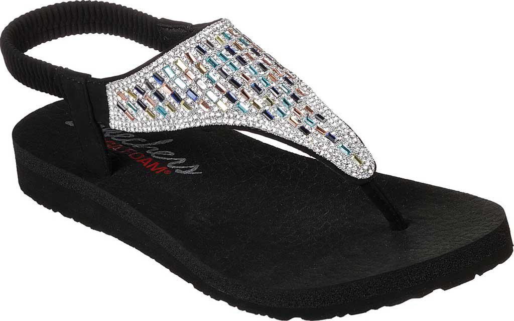 50566e8a04b8 Lyst - Skechers Meditation Rock Crown Thong Sandal in Black