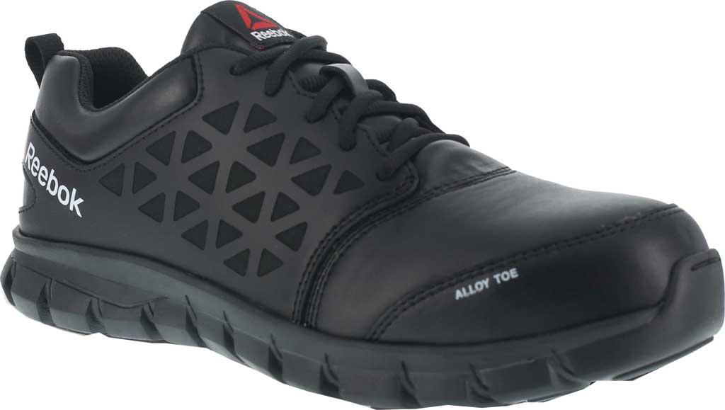 10085c179bf Reebok - Black Rb4047 Sublite Cushion Work Alloy Toe Oxford for Men - Lyst.  View fullscreen