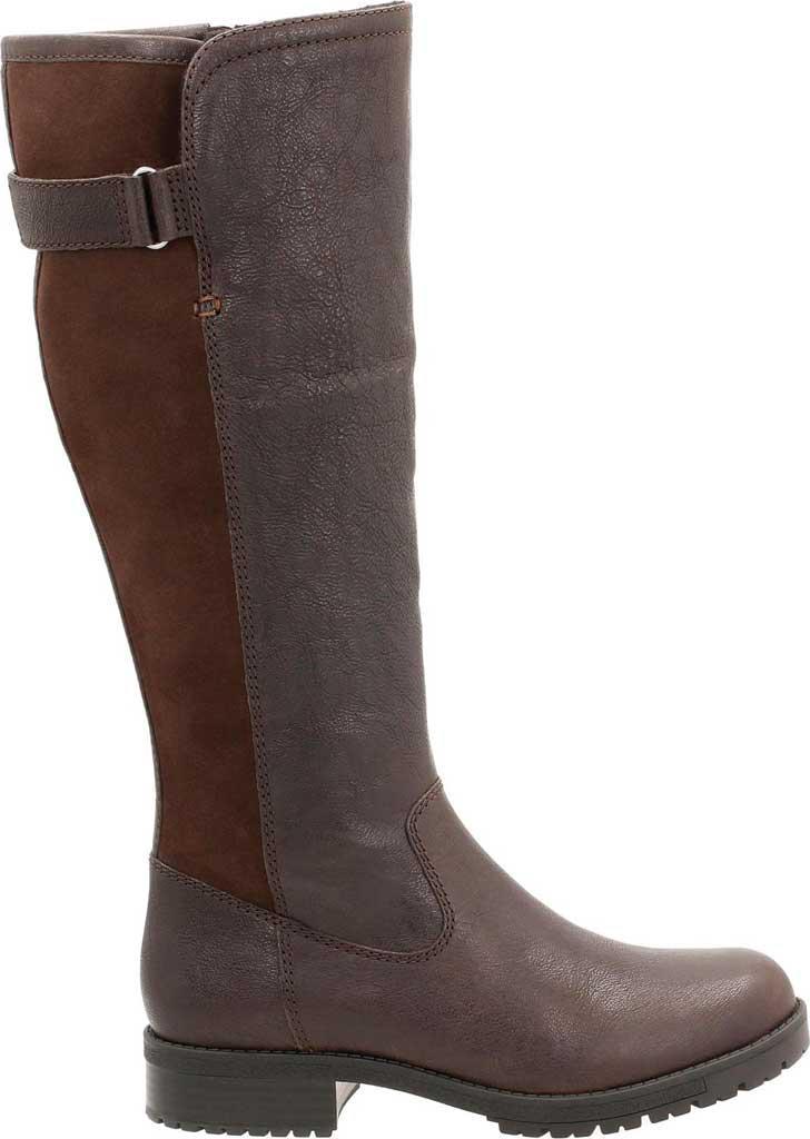 d3ab8920ed9 Clarks - Brown Faralyn May Waterproof Knee High Boot - Lyst. View fullscreen