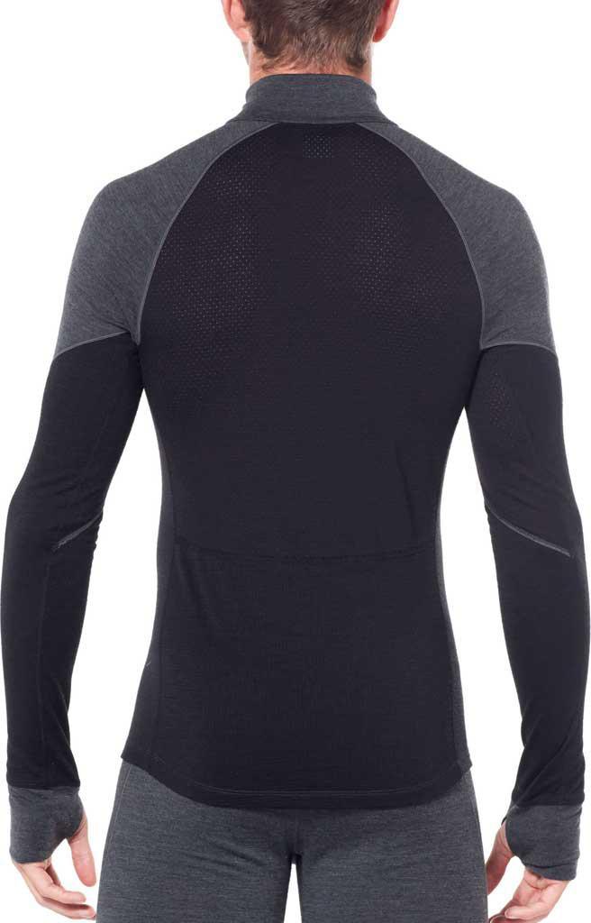 bcfe8f41237 Icebreaker - Black 260 Zone Long Sleeve Half Zip Baselayer for Men - Lyst.  View fullscreen