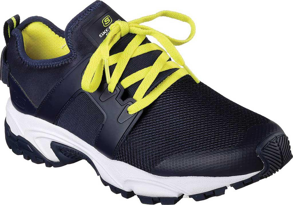 Reliable Cheap Online Sale Comfortable Skechers Stamina Dracfort Sneaker(Men's) -Navy/Lime Huge Surprise Cheap Price Y3v77f