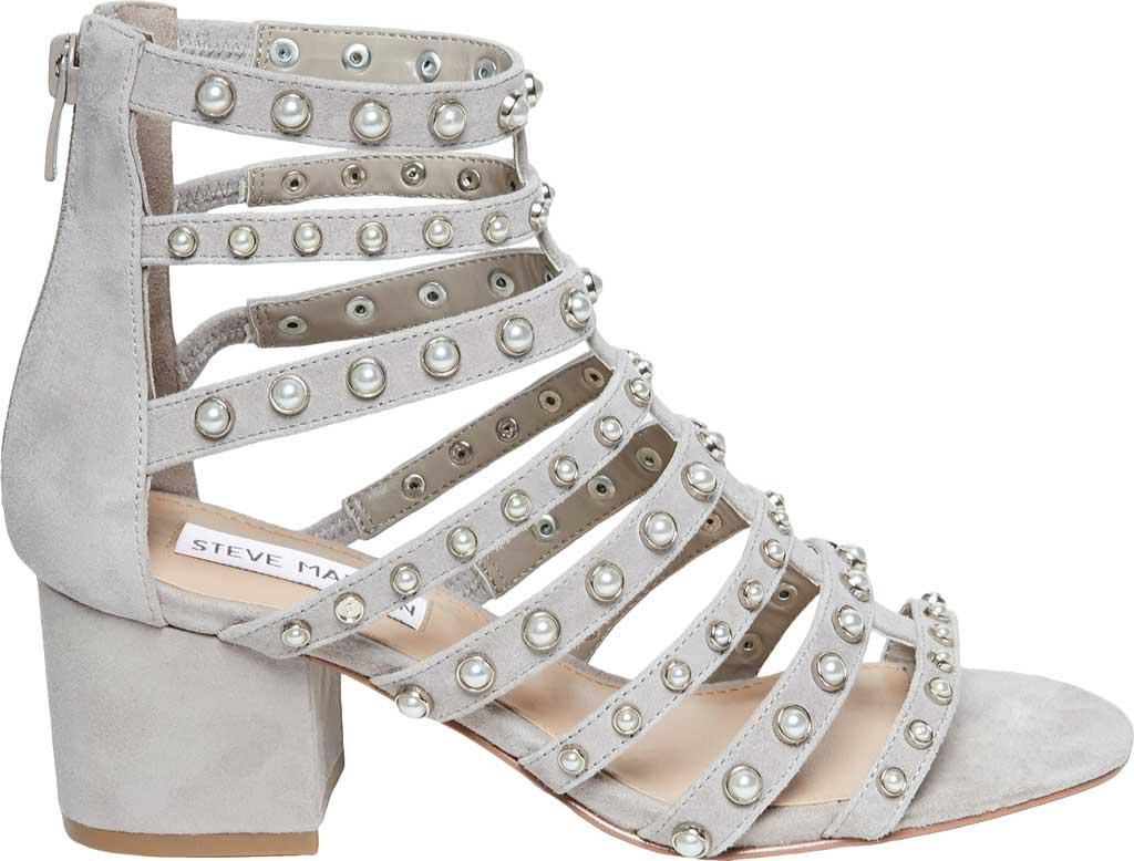 4dc0623a9d0 Lyst - Steve Madden Mania Strappy Sandal in Gray - Save 35%