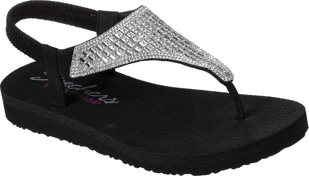 0d5f9e29abf5e Skechers - Black Meditation Rock Crown Thong Sandal - Lyst. View fullscreen