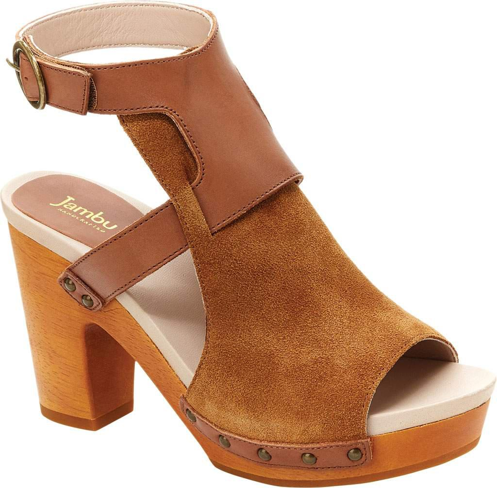Jambu Gina Nubuck Leather Sandals cNo61jC
