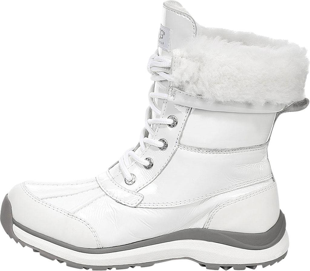8513a3cecd5 Ugg White Adirondack Iii Patent Winter Boot