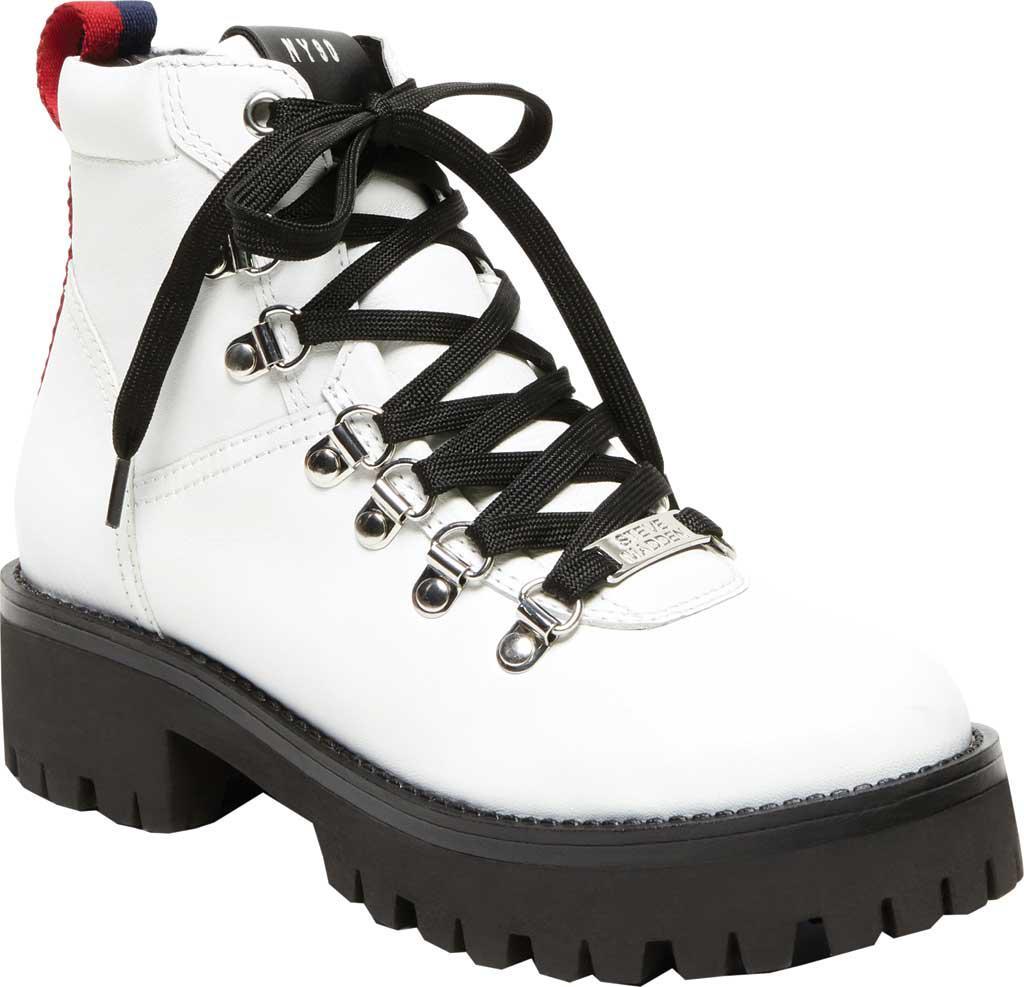 030444d22b4 Lyst - Steve Madden Bam Hiker Boot in White - Save 25%