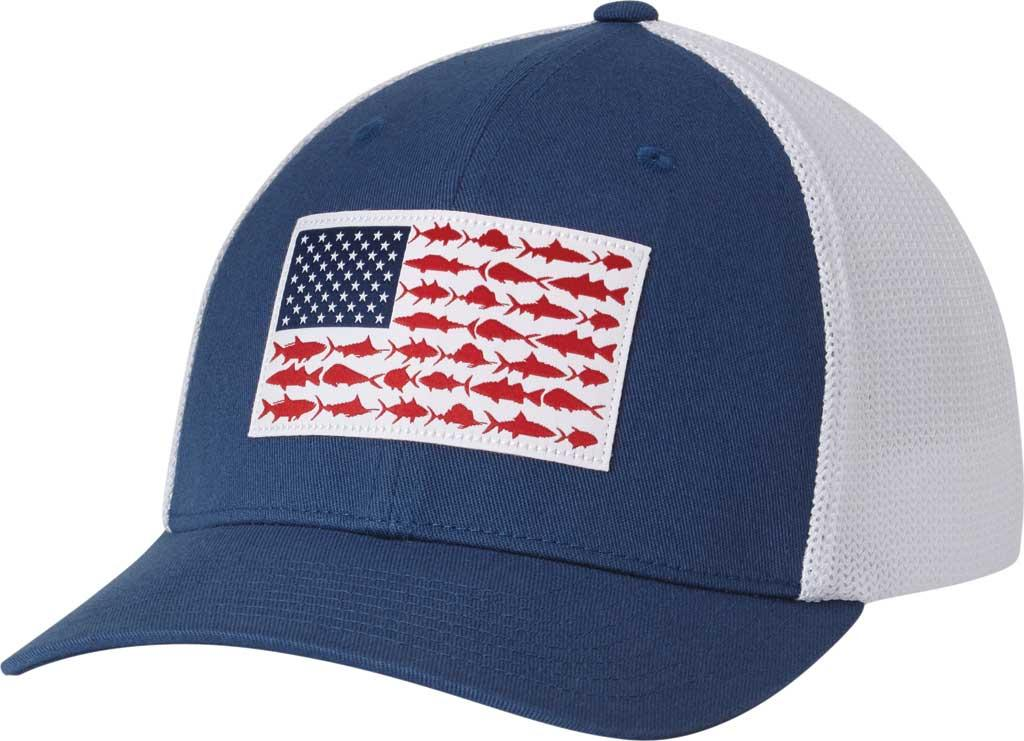 c0c849ea67418 Lyst - Columbia Pfg Mesh Fish Flag Ball Cap in Blue for Men