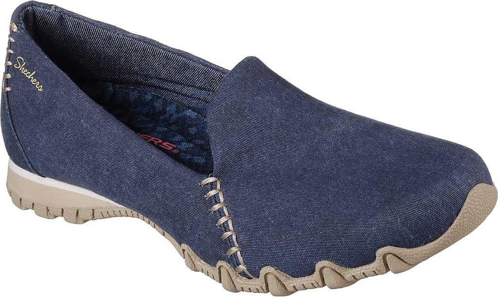 1a44cf171b9dd Skechers Blue Relaxed Fit Bikers Smokin Slip-on Shoe