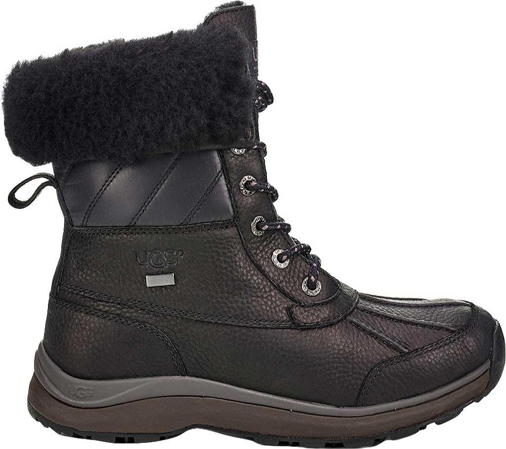 d58fb26cbfd Ugg Black Adirondack Iii Quilted Shaft Winter Boot