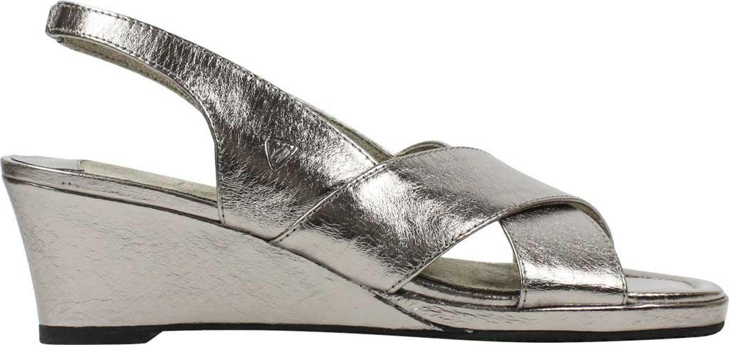 3e443b7f2fde J. Reneé - Metallic Antolina Wedge Sandal - Lyst. View fullscreen