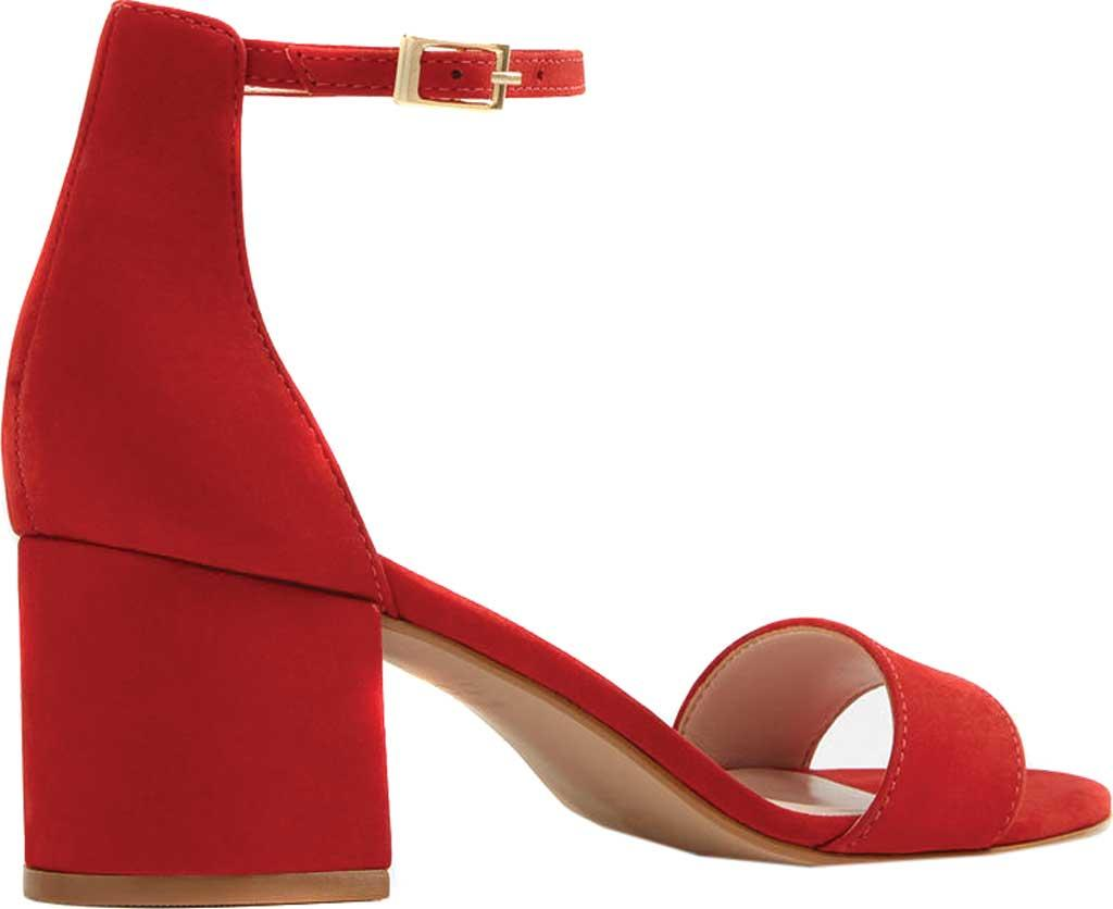 67c1a25bd0f ALDO - Red Villarosa Block Heel Sandal - Lyst. View fullscreen