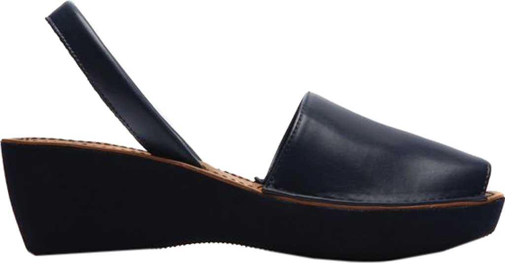 475a60091014 Lyst - Kenneth Cole Reaction Fine Glass Wedge Sandal in Blue