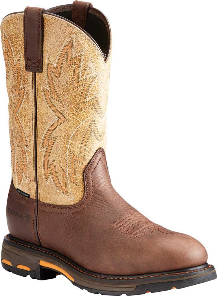 Ariat. Men's Brown Workhog Raptor Composite Toe Work Boot