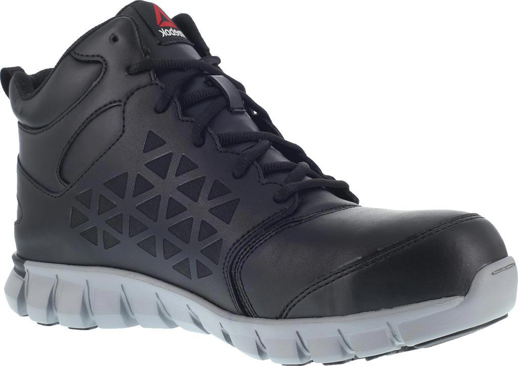 Lyst - Reebok Sublite Cushion Rb142 Alloy Toe Work Shoe in Black 24074214a