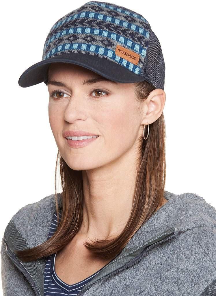 Lyst - Toad&co Fairisle Trucker Hat in Blue