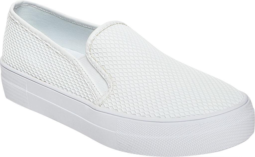 d60595b2925 Lyst - Steve Madden Gills Slip On Platform Sneaker in White