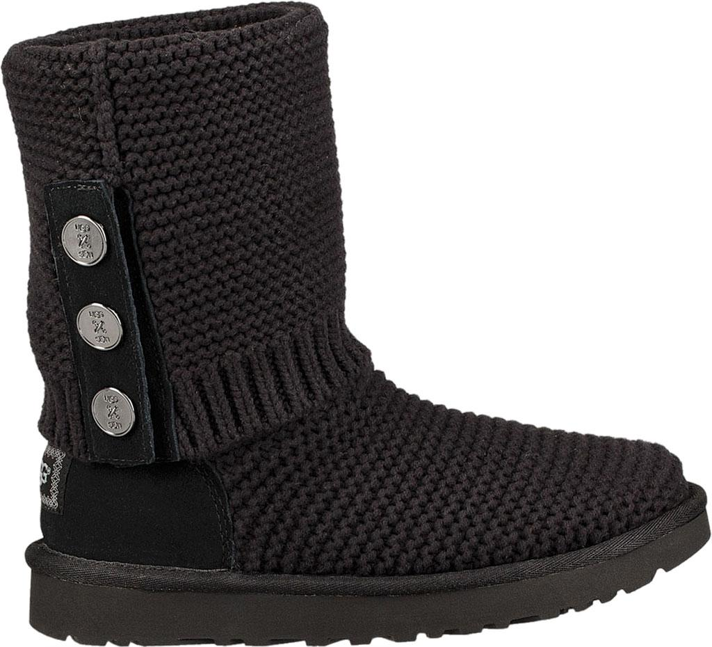 6e3c3831d02 Ugg Black Purl Cardy Knit Boot