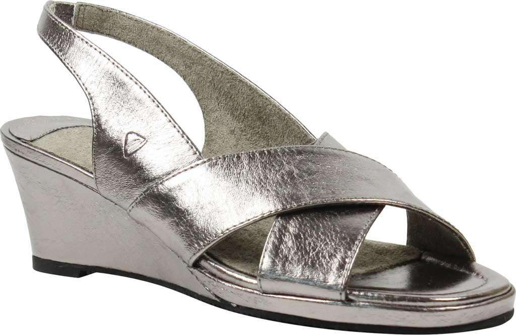 4da13f844591 Lyst - J. Reneé Antolina Wedge Sandal in Metallic - Save 8%