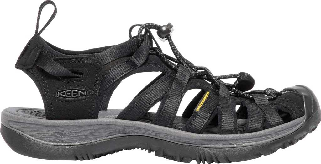 7f2545f0f597 Lyst - Keen Whisper Sandals in Black for Men