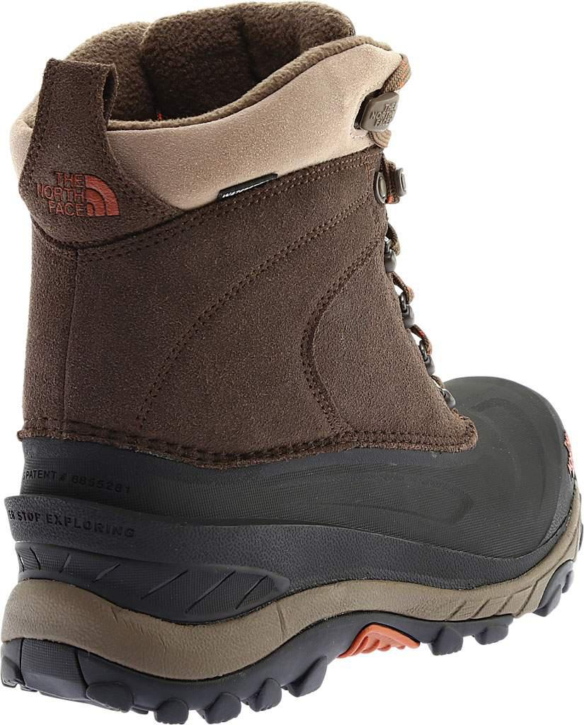 1824091fc4f The North Face Brown Chilkat Iii 200g Waterproof Winter Boots for men