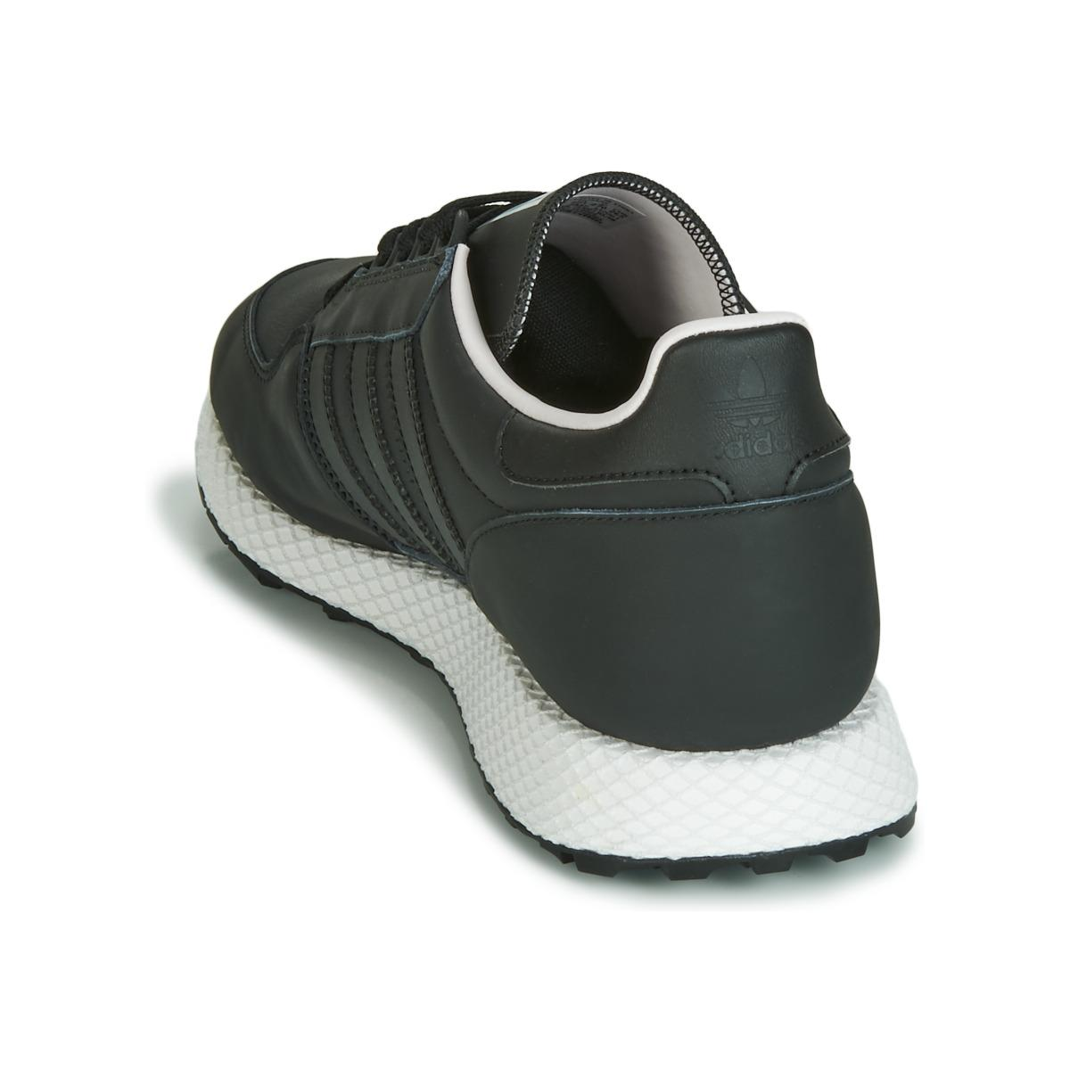 Baskets Cuir adidas en coloris Noir - 6 % de réduction mov1