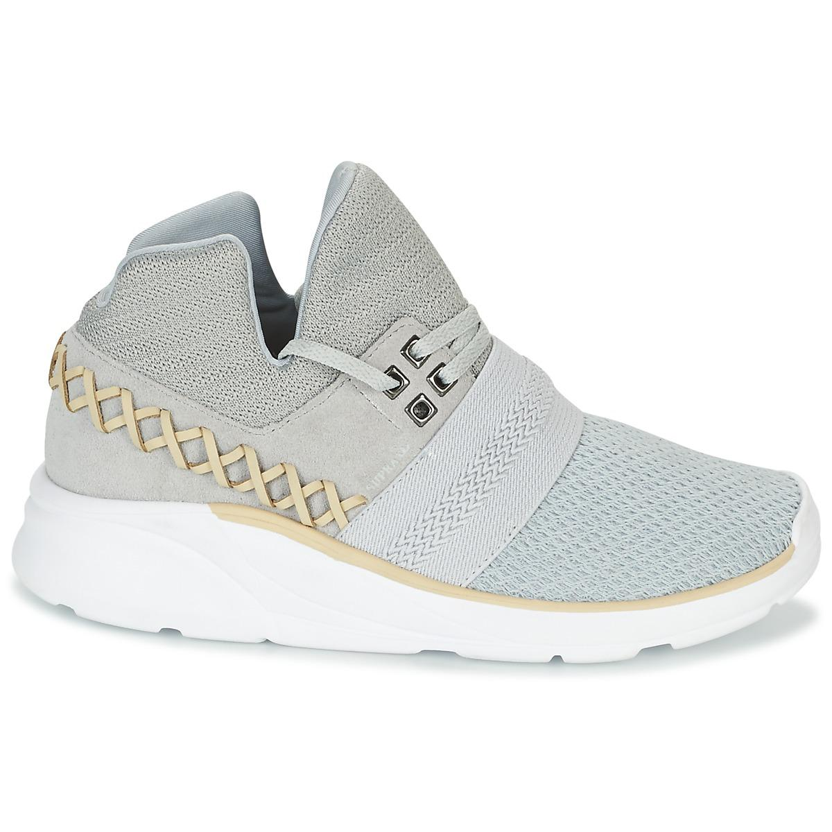 CATORI Chaussures Supra en coloris Gris